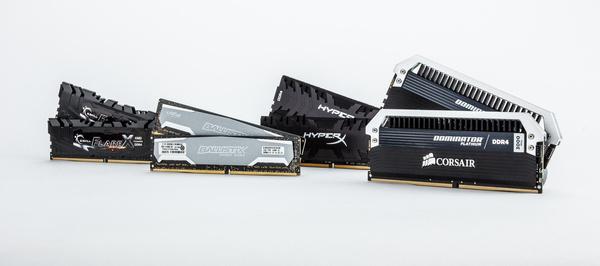 28 DDR4-geheugenkits vergelijkingstest: het beste geheugen