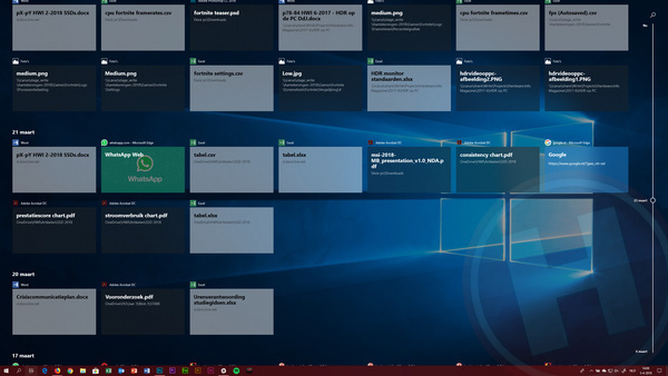 Windows 10 April 2018 Update (1803) review - Hardware Info