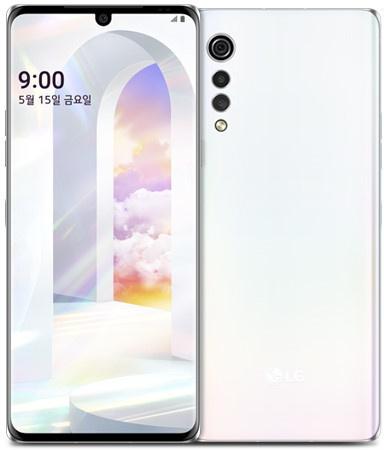 De LG Velvet in het wit