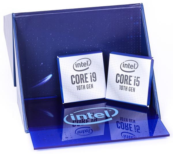 De Intel Core i5 10600K en Core i9 10900K