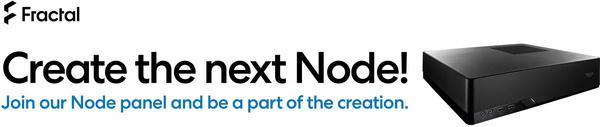 Fractal Design organiseert een online panel om de nieuwe Node behuizing te ontwerpen