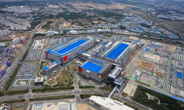Het bestaande complex in Pyeongtaek