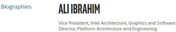 Ali Ibrahim Intel