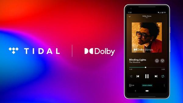 Tidal met Dolby Atmos