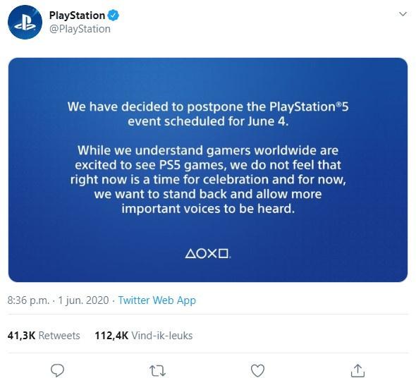 Sony bericht Twitter