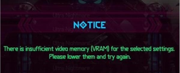 Doom Eternal framebuffer niet groot genoeg