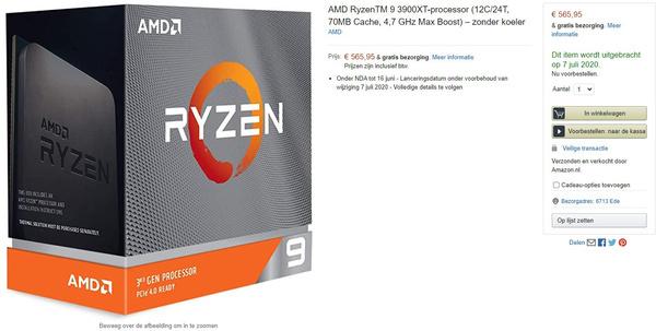 Amazon 3900XT
