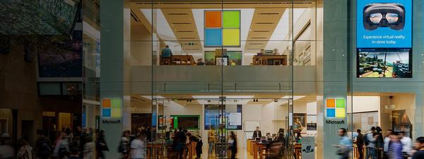 fysieke Microsoft Store