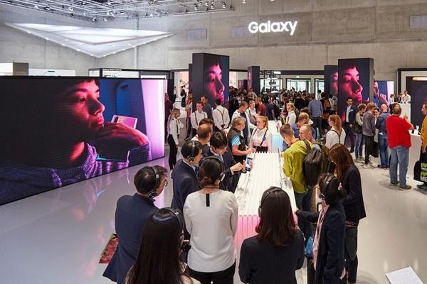 Samsung op de IFA beurs in 2019