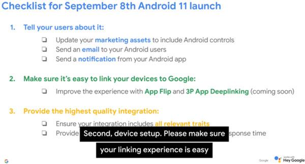 Google lekte de Android 11 releasedatum in een video voor ontwikkelaars