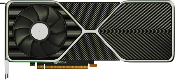 Nvidia Ampere Founders Edition render