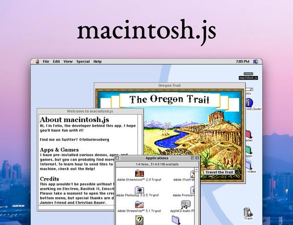 Mac OS 8 in JavaScript