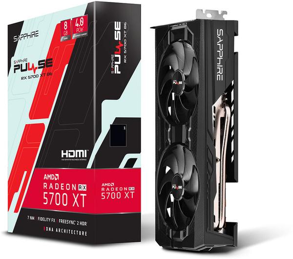 Radeon RX 5700 XT Pulse BE van Sapphire