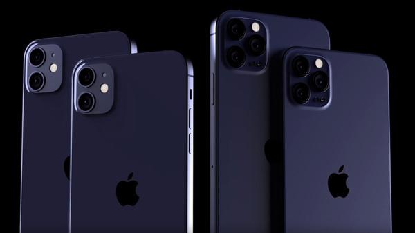iPhone 12 familie conceptrender
