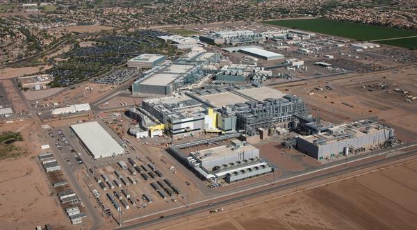 De Fab 42 fabriek van Intel in Arizona