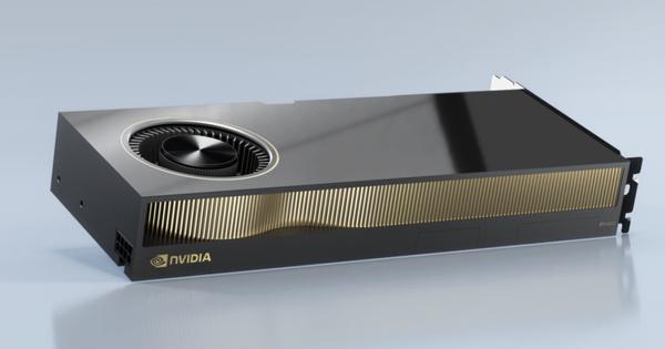 De Nvidia RTX A6000 voor workstations zonder Quadro naamgeving