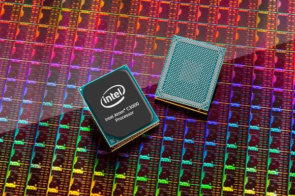 Een Intel cpu met Goldmont architectuur