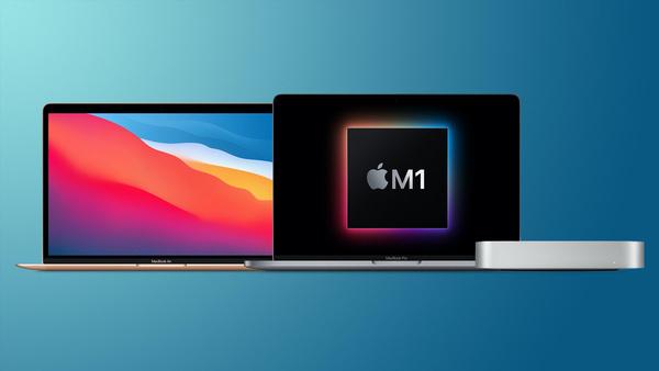 Apple MacBooks en Mac Mini met M1 chip