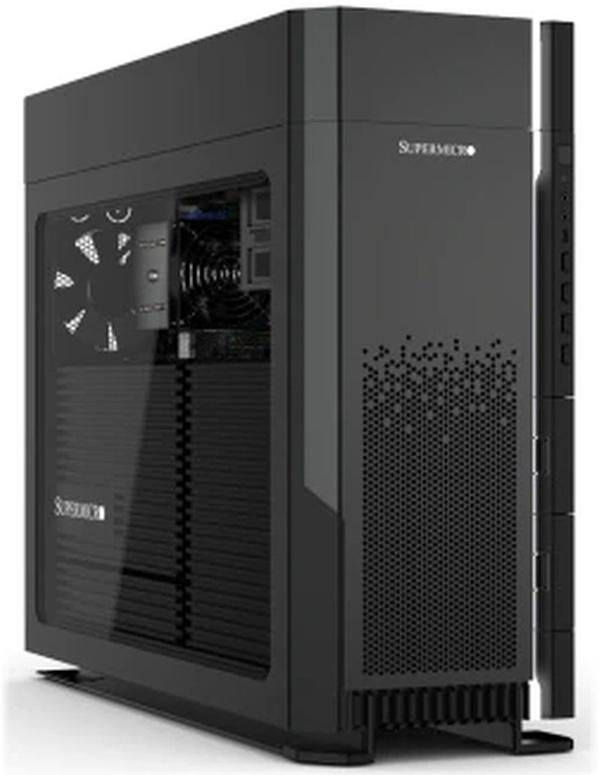 SuperMicro workstation met Ryzen Threadripper 3000WX
