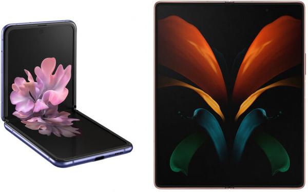 Samsung Galaxy Z Flip en Samsung Galaxy Z Fold 2