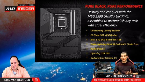 MSI MEG Z590 Unify