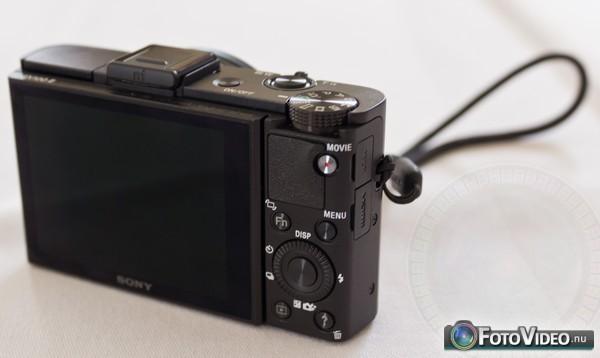 Sony Cyber-shot DSC-RX100 II achterzijde