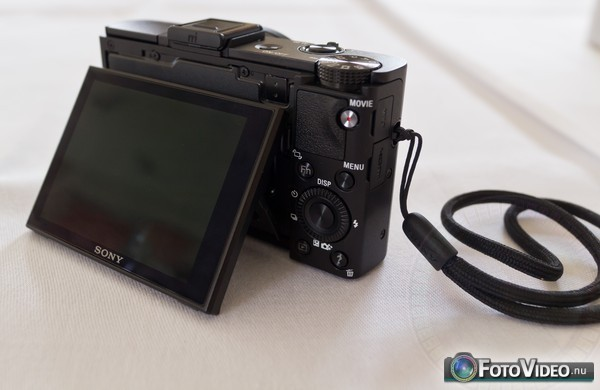 Sony Cyber-shot DSC-RX100 II kantelbaar scherm