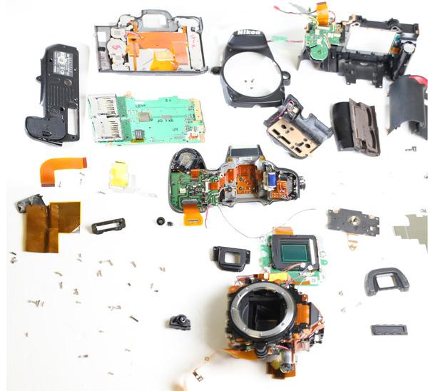 Nikon D7000 onderdelen
