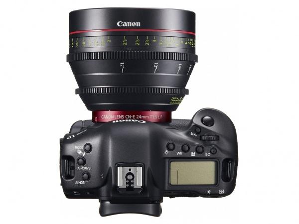 Canon EOS 1D C top