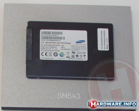 Samsung SSD SM843 2,5