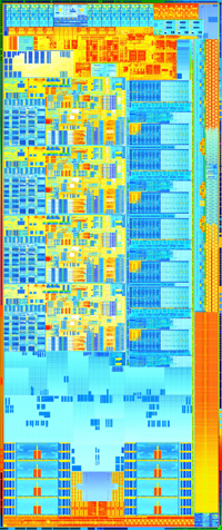 Intel 3rd gen die shot