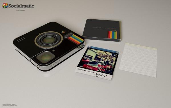Socialmatic Camera met toebehoren