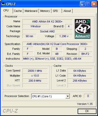 CPU-Z screenshot