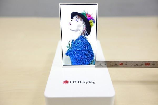 LG Display 5-inch Oxide TFT met 1 mm bezel