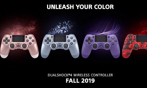 Sony voegt nieuwe kleuren DualShock 4-controller toe