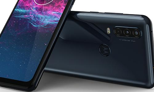 Horizontaal filmen terwijl je je telefoon verticaal vasthoudt: Motorola One Action