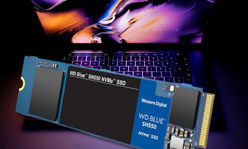 Western Digital voegt SN550 NVMe-SSD toe aan Blue-productlijn