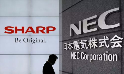 Sharp neemt 66% van NEC's displaytak over