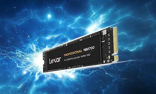 Lexar toont nieuwe NM700 M.2 NVMe SSD