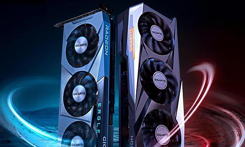 Gigabyte teaset twee custom Radeon RX 6600 XT's: release is nabij