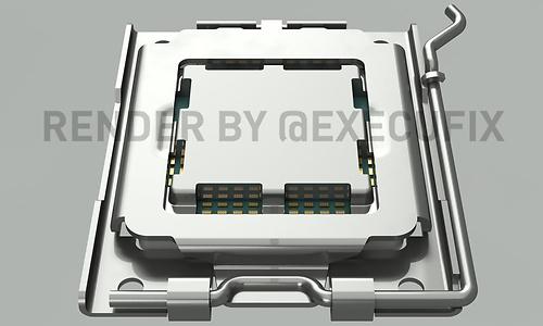 Renders van AM5-socket voor AMD Zen 4-processoren online gezet