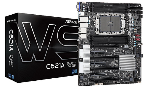 ASRock onthult C621A WS-moederbord voor Xeon W-3300 Ice Lake-processors