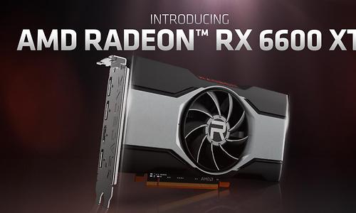 AMD kondigt RX 6600 XT aan voor 1080p-gaming, eerste kaarten onthuld