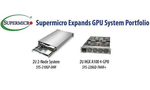 Supermicro komt met HGX A100 en dual-node X12-servers van 2U