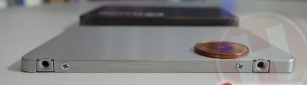 Plextor M6: 5 mm is best dun