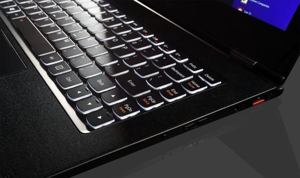 Lenovo Yoga Pro keyboard