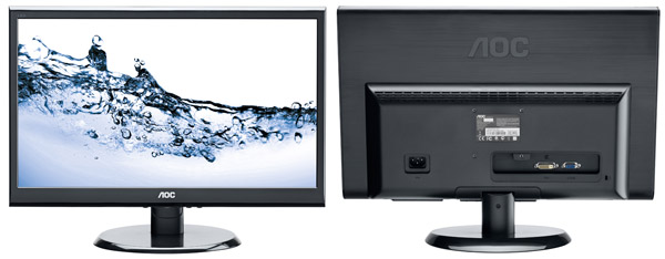 19 5 Inch Aoc Business Monitors With 1600x900 Resolution