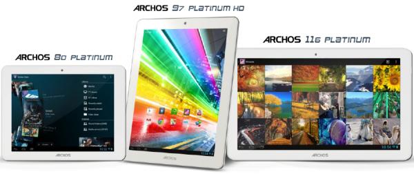 Archos komt met hoge resolutie tablet