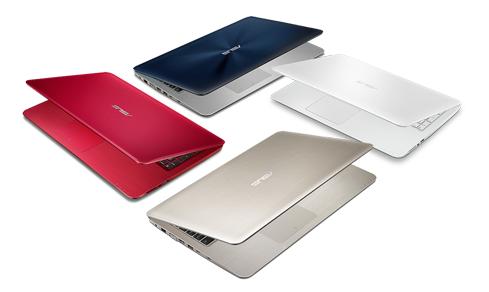 ASUS X-serie laptops met Skylake Core i7
