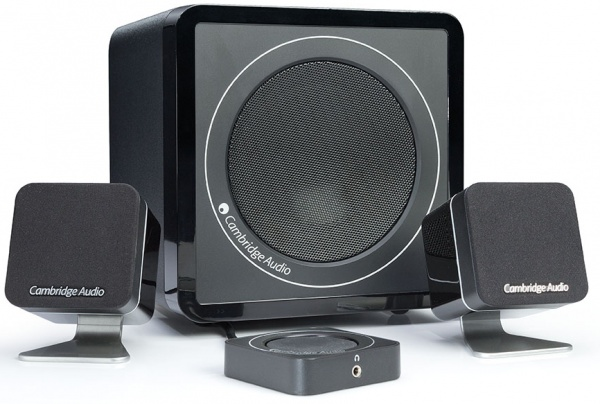 Actief 2.1 speakerset van Camebridge Audio
